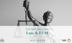 End of the discussion on legislation against FGM